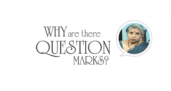 Why are there question marks?