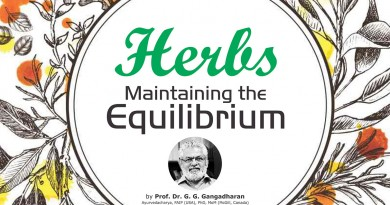 Herbs Maintaining the Equilibrium