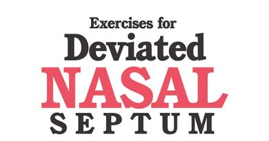 Exercises for Deviated Nasal Septum
