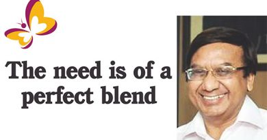 The need is of a perfect blend