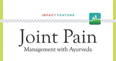 Joint Pain Management with Ayurveda