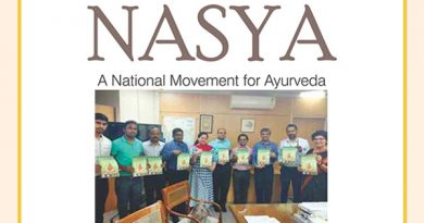 Nasya A national  movement of Ayurveda