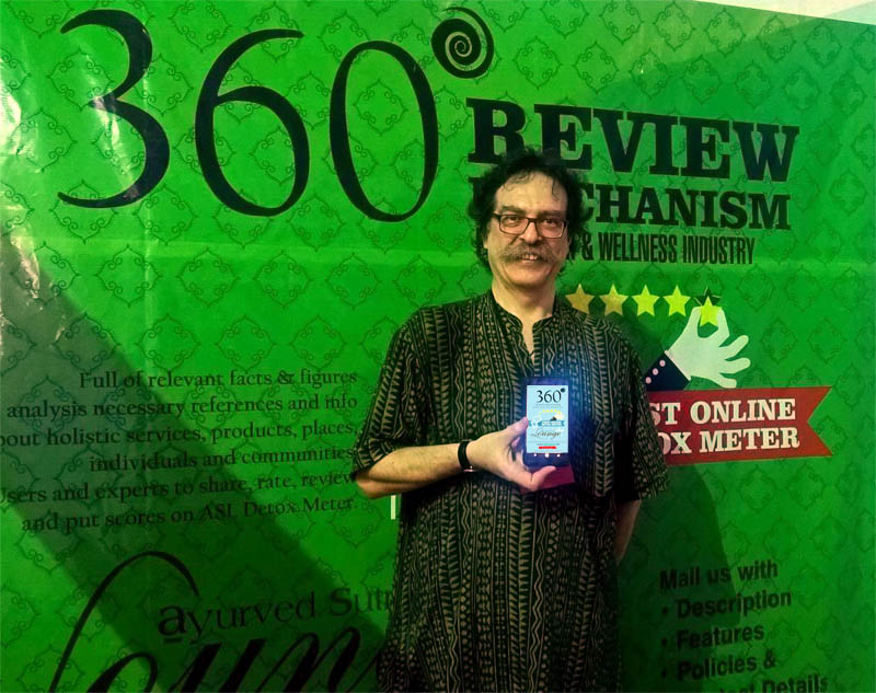 gaf.mob copy - Dr Antonio Morandi launches Ayurved Sutra's Lounge, the First Online DETOX METER for holistic community