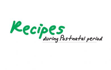 Recipes During Postnatal Period