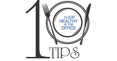 Ayurvedsutra Vol 04 issue 05 84 a 390x205 - 10 Tips to Eat Healthy at the Office