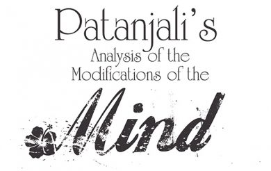 Patanjali's Analysis of the Modifications of the Mind