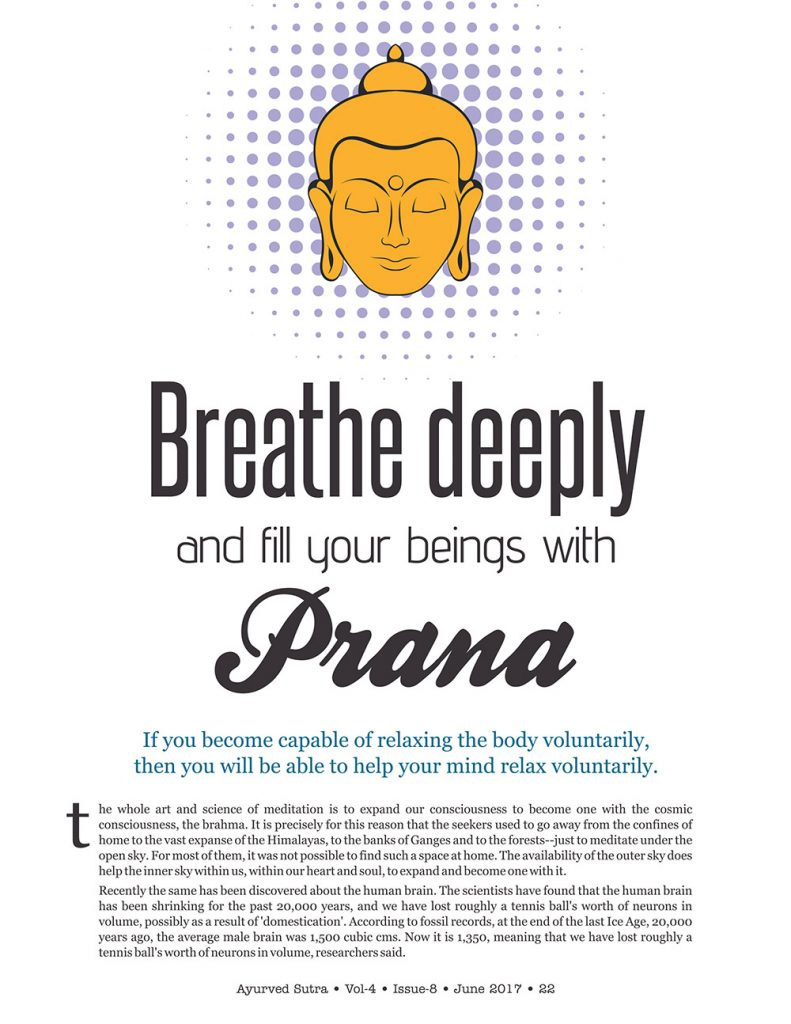 Ayurvedsutra Vol 04 issue 08 24 791x1024 - Breathe deeply and fill your beings with Prana