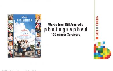 Words from Bill Aron who photographed 120 cancer Survivors