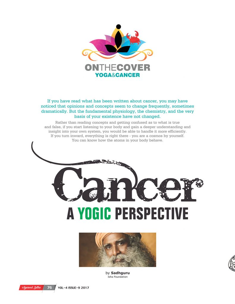 Ayurvedsutra Vol 04 issue 09 78 791x1024 - Cancer – A Yogic Perspective