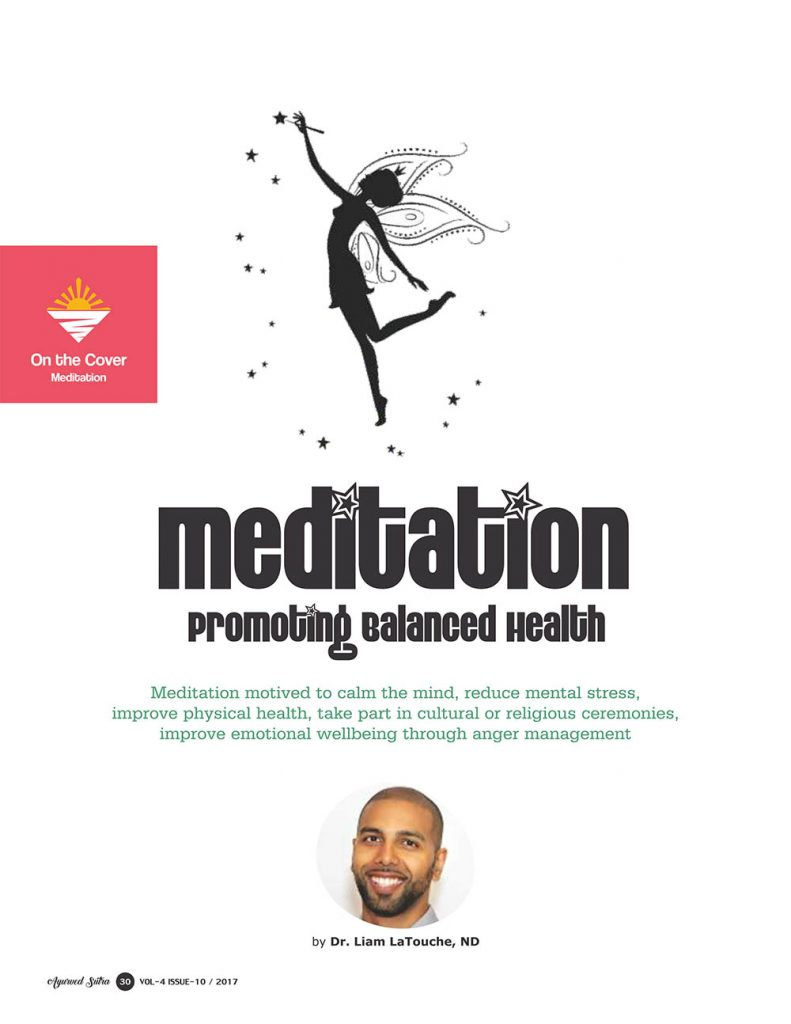 Ayurvedsutra Vol 04 issue 10 32 791x1024 - Meditation: Promoting Balanced Health