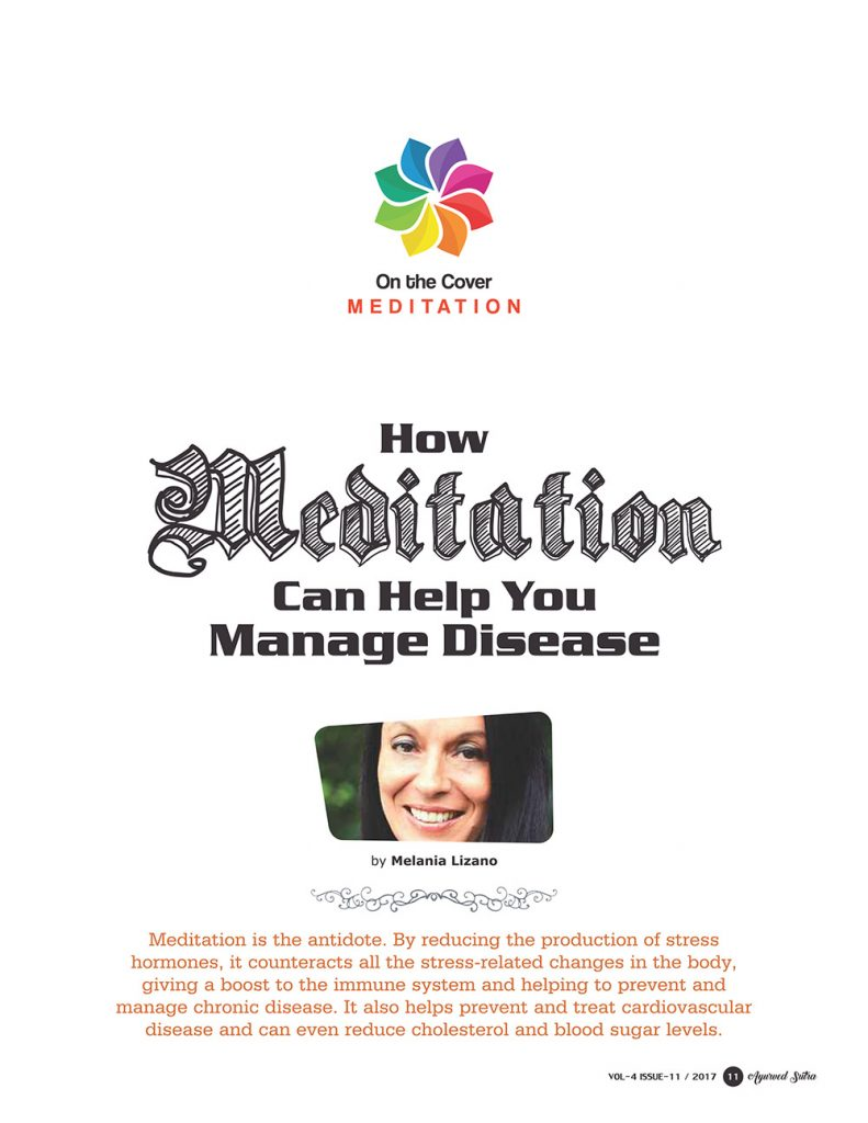 Ayurvedsutra Vol 04 issue 11 13 791x1024 - How Meditation Can Help You Manage Disease