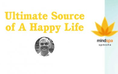 Ultimate Source of A Happy Life