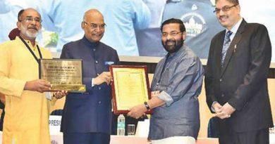 Ayurvedsutra Vol 04 issue 12 62 a 390x205 - Kerala Tourism awarded Six National Tourism Awards