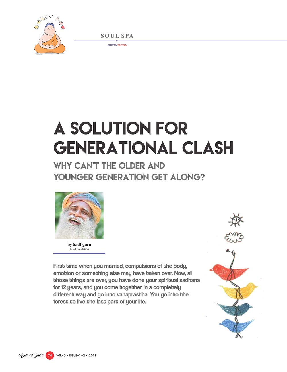 Ayurvedsutra Vol 05 issue 01 02 76 - A Solution for Generational Clash
