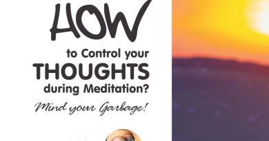 Ayurvedsutra Vol 05 issue 03 36 390x205 - How to Control your Thoughts during Meditation?