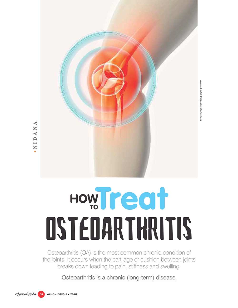 Ayurvedsutra Vol 05 issue 04 36 - How to treat Osteoarthritis