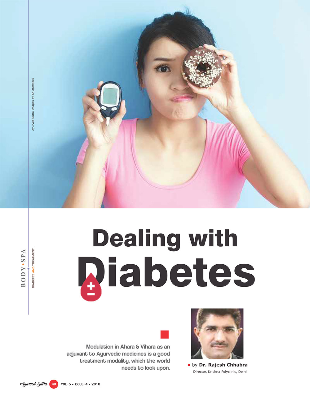 Ayurvedsutra Vol 05 issue 04 50 - Dealing with Diabetes with Ayurveda