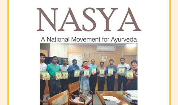 Ayurvedsutra Vol 05 issue 05 06 106 a - Nasya A national  movement of Ayurveda