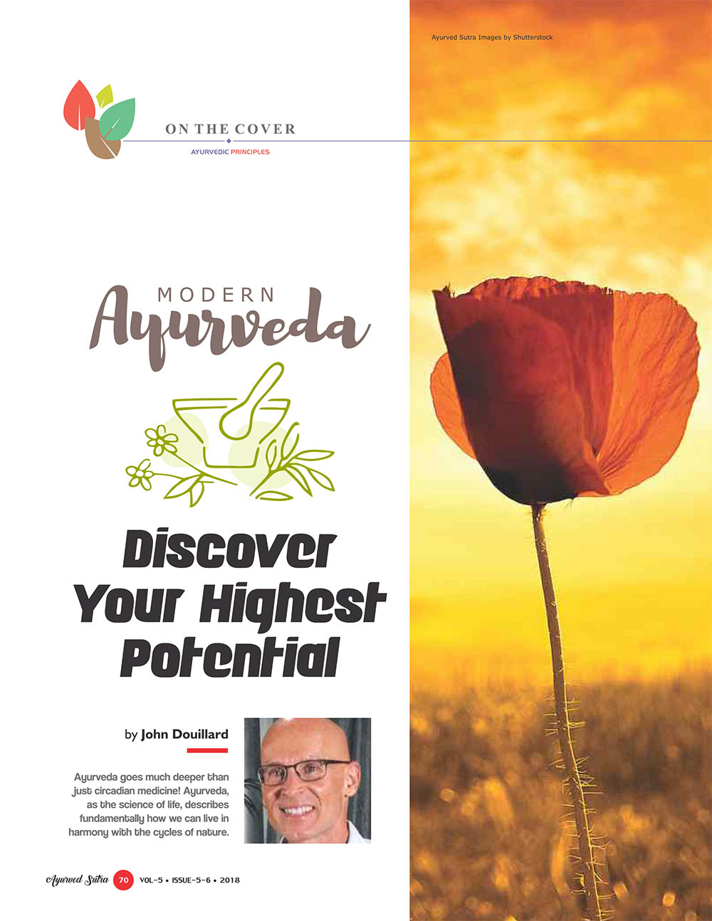 Ayurvedsutra Vol 05 issue 05 06 72 - Discover Your Highest Potential
