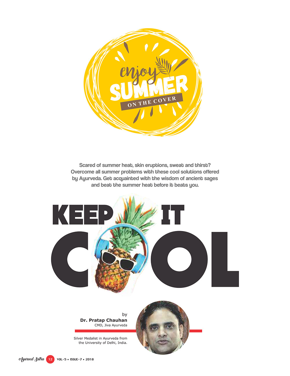 Ayurvedsutra Vol 05 issue 07 14 - Keep it Cool