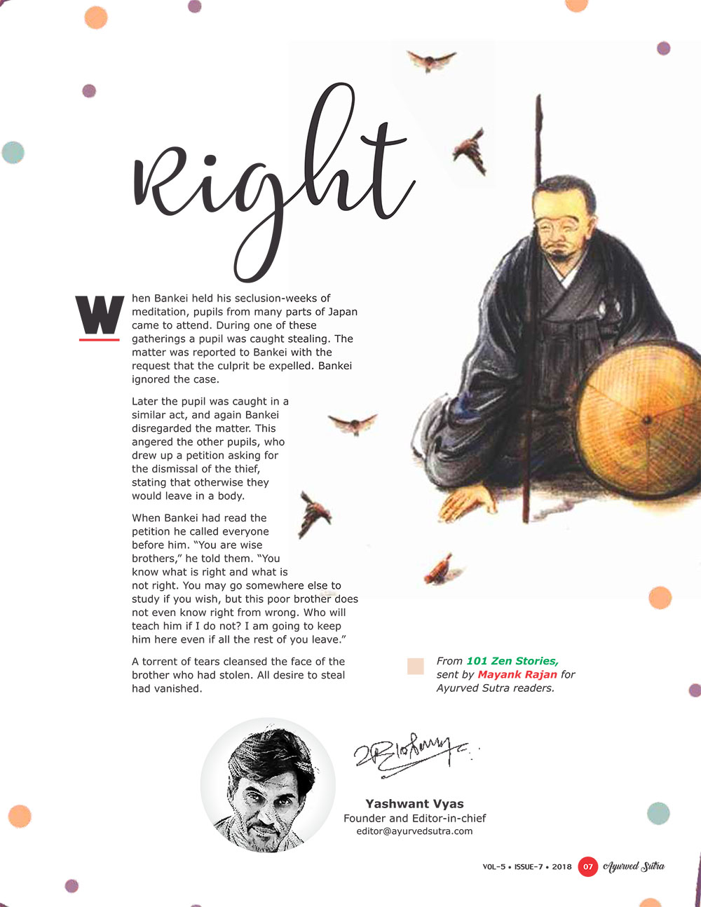 Ayurvedsutra Vol 05 issue 07 9 - Right
