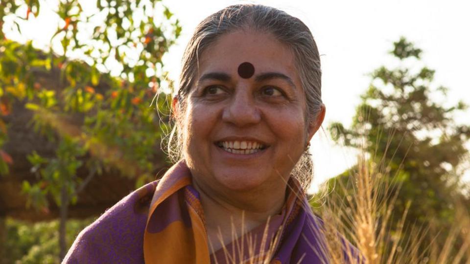 Shiva Vandana - Vital to shun pesticides for organic farming: Vandana Shiva