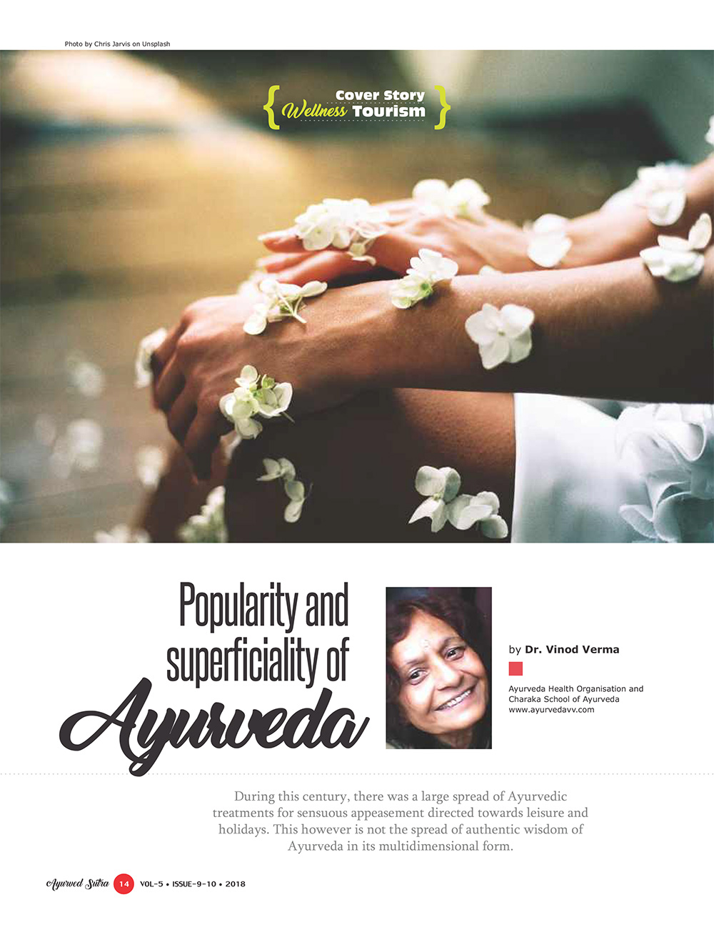 Ayurvedsutra Vol 05 issue 09 10 16 - Popularity and superficiality of Ayurveda