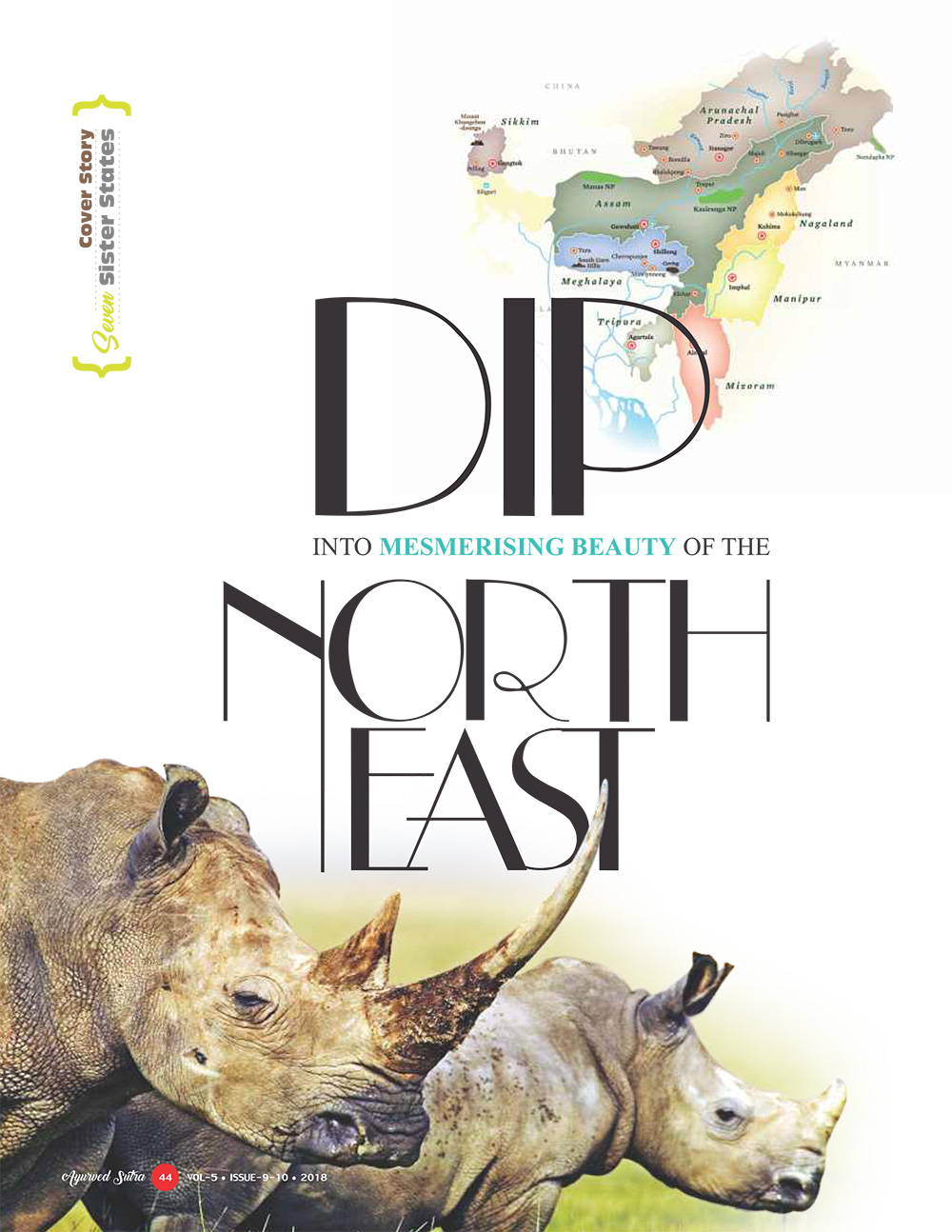 Ayurvedsutra Vol 05 issue 09 10 46 1 - Dip into Mesmerising Beauty of the North East