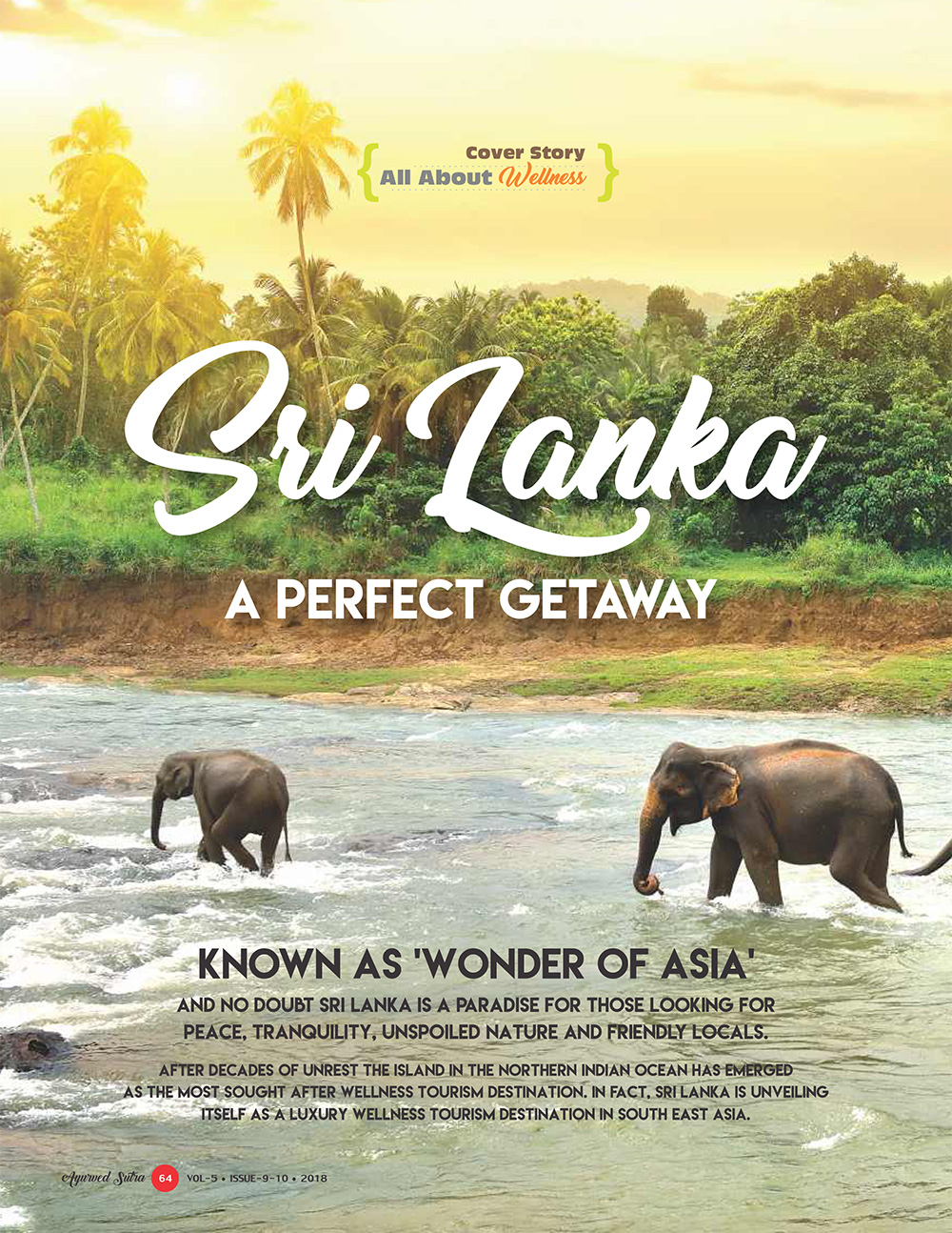 Ayurvedsutra Vol 05 issue 09 10 66 - Sri Lanka: A Perfect Getaway