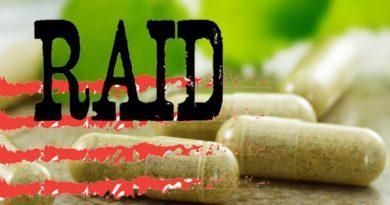 raid 390x205 - Diclofenac in Ayurveda Capsules, Arthritis treatment  Adulterated