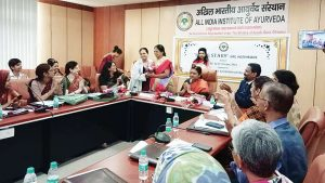 AYUSH institute The two day training programme organised by Ayurveda Institute pulled 30 participants from AYUSH institutes 300x169 - AIIA and IIM-Kozhikode trains 30 AYUSH women participants in management skills