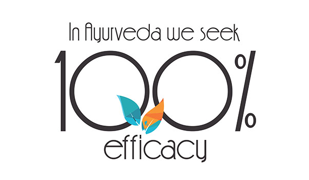 Ayurvedsutra Vol 05 issue 12 24a - In Ayurveda we seek  100 per cent efficacy