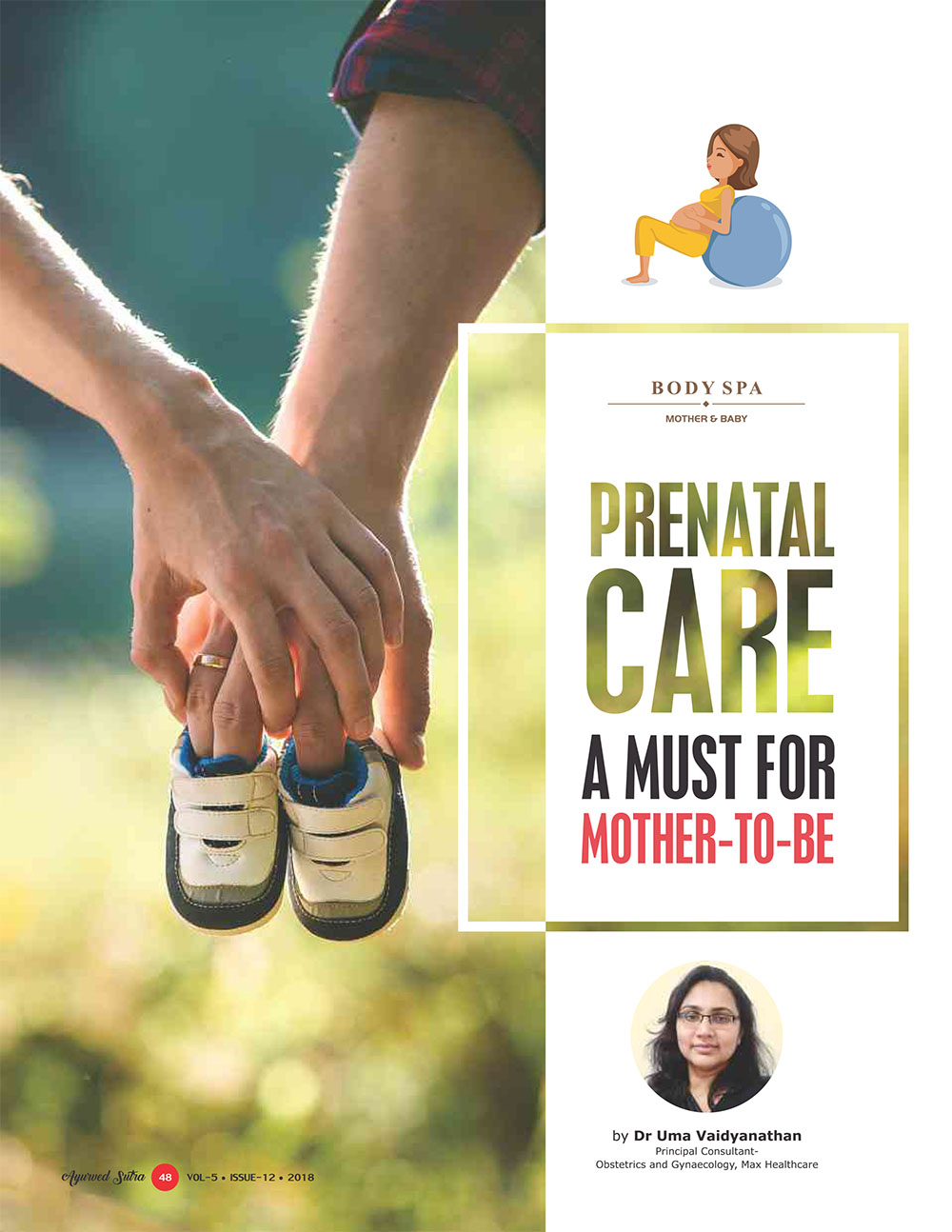 Ayurvedsutra Vol 05 issue 12 50 - Prenatal Care: A Must for Mother-to-be