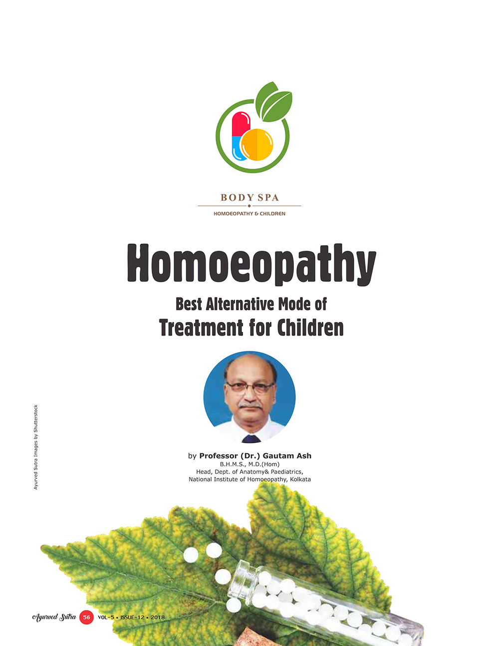 Ayurvedsutra Vol 05 issue 12 58 - Homoeopathy: Best Alternative  Mode of Treatment for Children