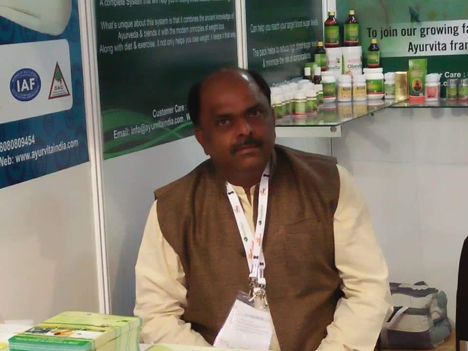 Vijaypratap Khushwaha 1 - Ayurvita organize Wellness Camps in South Delhi and Noida