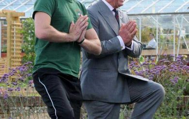 Yoga has proven beneficial effects and it saves our resources too,says Prince Charles