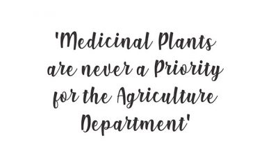Ayurvedsutra Vol 06 issue 01 02 38a 390x205 - Medicinal Plants are never a Priority for the Agriculture Department