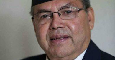 Senior leader of Communist Party of Nepal (UML) J.N. Khanal