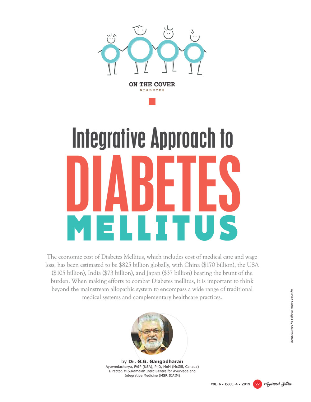 Ayurvedsutra Vol 06 issue 04 29 - Physicians must adopt Integrative Approach to Diabetes Mellitus