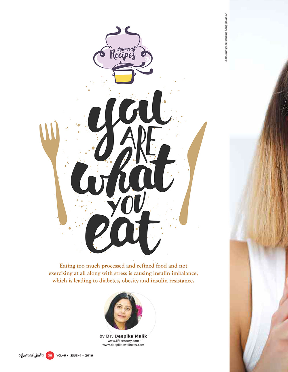 Ayurvedsutra Vol 06 issue 04 40 - You are what you eat