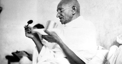 How Mahatma Gandhi experimented with Unfired Food
