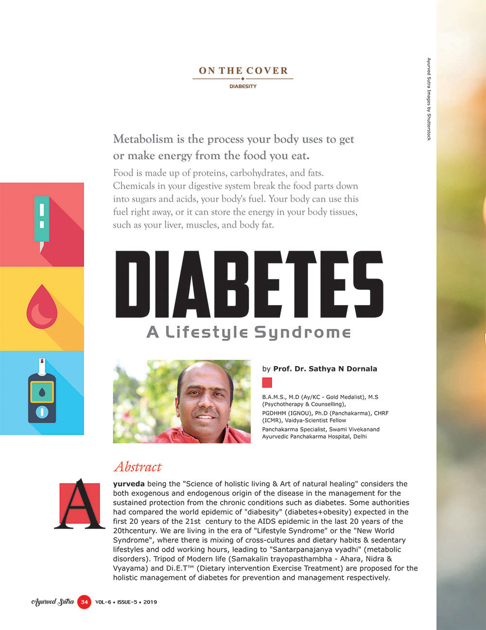 Ayurvedsutra Vol 06 issue 05 36 - Diabetes: A Lifestyle Syndrome