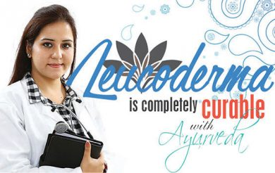 Leucoderma is completely curable with Ayurveda