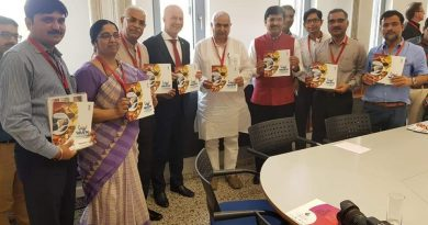German Parlianmentarian 390x205 - German Parliamentarian and Ayurveda Practitioner meets AYUSH Dignitaries