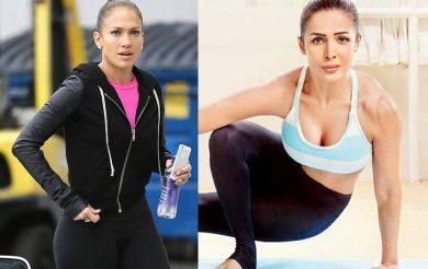 Jennifer Lopez, fiancé Alex Rodriguez, Malaika Arora join hands with Indian yoga and wellness brand SARVA