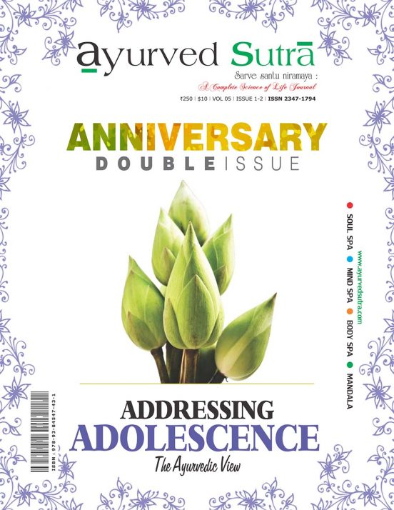 Ayurvedsutra Vol 05 issue 01 02 1 552x714 - Ayurved Sutra : Adolescence