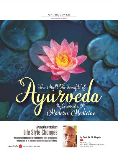 Ayurvedsutra Vol 05 issue 05 06 12 400x518 - Ayurved Sutra : Alternative Therapy Special