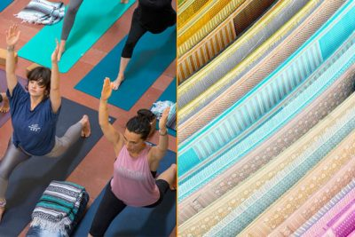 khadi yoga 400x267 - Khadi the flavor of International Day of Yoga