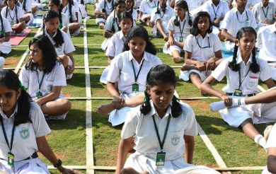 Make yoga compulsory in schools & colleges: Shripad Yesso Naik to HRD Ministry
