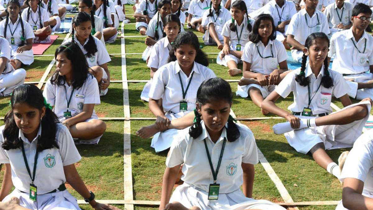 yoga in schools - Make yoga compulsory in schools & colleges: Shripad Yesso Naik to HRD Ministry